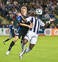 San Jose Earthquakes vs West Bromwich Albion FC July 12 2011