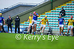 Fionan Mackessy, Kerry, in action against Shane Whitty, Meath during the Round 1 meeting of Kerry and Meath in the Joe McDonagh Cup at Austin Stack Park in Tralee on Sunday.