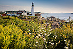 Portland Head Light, Cape Elizabeth, ME, USA