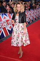 Amanda Holden<br /> arrives for the Britain's Got Talent 2018 auditions, Palladium Theatre, London<br /> <br /> <br /> ©Ash Knotek  D3373  28/01/2018