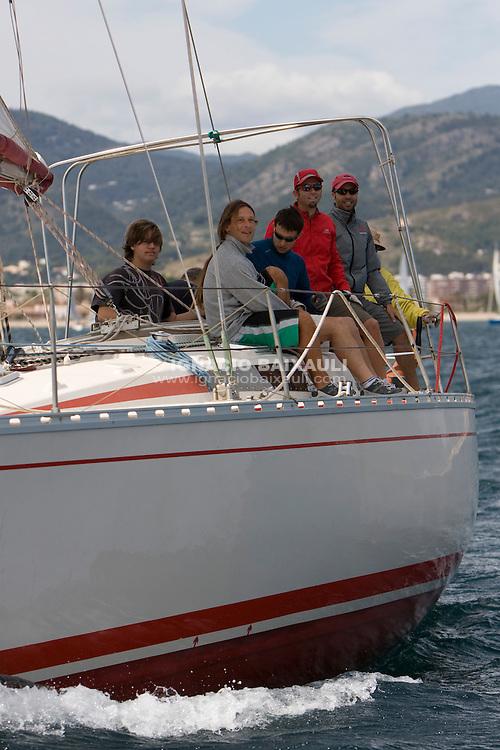I REGATA CAP I CUA, Oliva-Canet d'en Berenguer. 6-7- Junio 2009