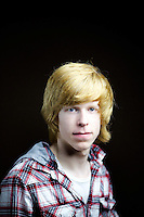 Gregor Larmour,16, school pupil, from Kilmarnock.<br />  <br /> 'I call it gingerish blonde. I used to call it strawberry blonde but thats not very manly. If they think its ginger then its ginger. People called it ginger if they were bullies or trying to wind me up.'<br /> <br /> 'I can't imagine a disadvantage. In Italy they haven't seen many ginger people so on a school trip some guy was shouting Guy with orange hair!. My teacher translated for me. I was the only ginger guy in my year at school, it is not common, perhaps 10% in school.'<br /> <br /> 'Mum says I fire up quickly in an argument, she says my hair colour matches my temper. It's the picture of traditional angry ginger Scot.' <br /> <br /> 'My mum is blonde and father was in your face ginger like the 'see-you-jimmy' hats before he went bald. My wee brother is. We say my wee sister is adopted because she is brown.'