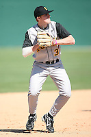 February 21, 2009:  First baseman Phil Keppler (3) of the University of Iowa during the Big East-Big Ten Challenge at Jack Russell Stadium in Clearwater, FL.  Photo by:  Mike Janes/Four Seam Images