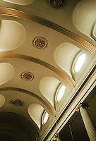 Sir Christopher Wren: St. Magnus, London. Interior, ceiling detail.