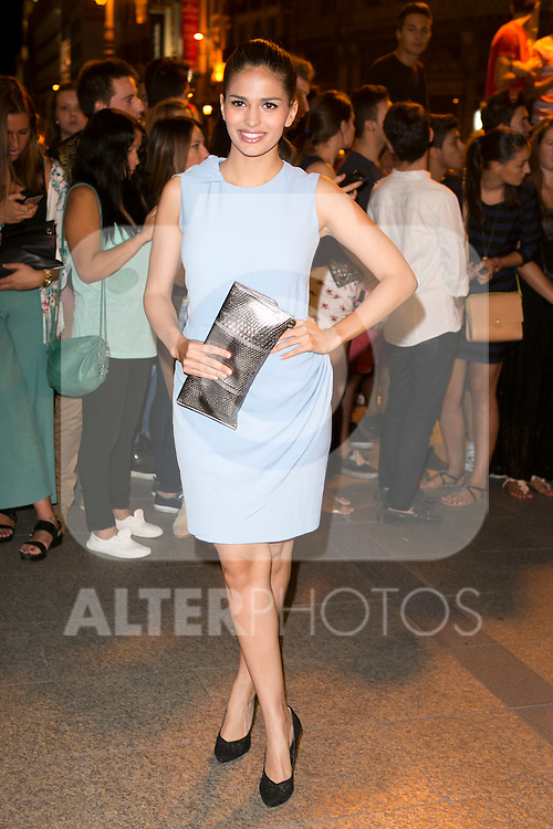 Sara Salamo attends the party of Nike and Roberto Tisci at the Casino in Madrid, Spain. September 15, 2014. (ALTERPHOTOS/Carlos Dafonte)