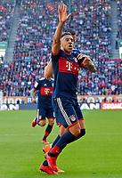 07.04.2018, Football 1. Bundesliga 2017/2018, 29.  match day, FC Augsburg - FC Bayern Muenchen, in WWK-Arena Augsburg.  Corentin Tolisso (FC Bayern Muenchen)  *** Local Caption *** © pixathlon<br /> <br /> Contact: +49-40-22 63 02 60 , info@pixathlon.de