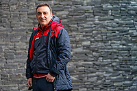 Swansea City FC manager Carlos Carvalhal at Fairwood Training Ground in the outskirts of Swansea, Wales, UK. Thursday 25 January 2018