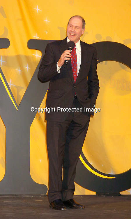 Michael Eisner ..at the World of Disney Store opening on October 4, 2004 ..on Fifth Avenue in New York City. Photo by Robin Platzer, Twin Images