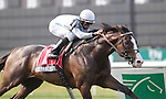 Courageous Cat, trained by Bill Mott and ridden by by Jose Lezcano, wins the grade III Poker Stakes at Belmont Park, Elmont, NY on June 10, 2011. (Joan Fairman Kanes/Eclipsesportswire)