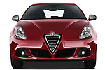 Straight front view of a 2010 - 2014 Alfa Romeo Giulietta 5 door hatchback.