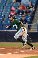 Daytona Tortugas shortstop Alex Blandino (5) at bat during a game against the Tampa Yankees on April 24, 2015 at George M. Steinbrenner Field in Tampa, Florida.  Tampa defeated Daytona 12-7.  (Mike Janes/Four Seam Images)