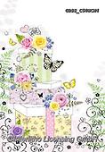 Sharon, WEDDING, HOCHZEIT, BODA, paintings+++++,GBSSC50WCM4,#W#, EVERYDAY ,cake,butterflies