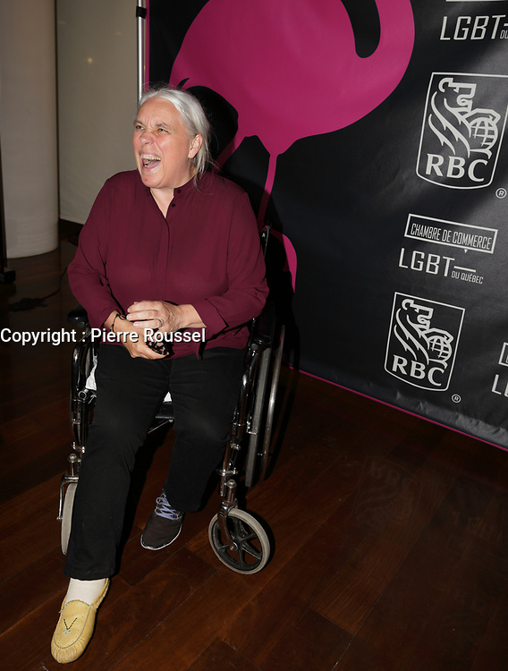 Manon Masse<br /> au Gala Phenicia 2018<br /> , le 31 mai 2018,a la Caisse de Depot et PLacements du Quebec.<br /> <br /> PHOTO : Agence Quebec Presse
