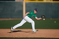 Isaac Bateman during the Under Armour All-America Tournament powered by Baseball Factory on January 19, 2020 at Sloan Park in Mesa, Arizona.  (Zachary Lucy/Four Seam Images)