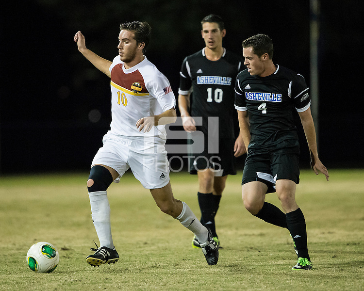 The Winthrop University Eagles beat the UNC Asheville Bulldogs 4-0 to clinch a spot in the Big South Championship tournament.  Pol Sole (10), Patrick Phillip (4)