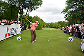 Miguel Angel JIMENEZ (ESP) during round 2 of the 2015 BMW PGA Championship over the West Course at Wentworth, Virgina Water, London. 22/05/2015<br /> Picture Fran Caffrey, www.golffile.ie: