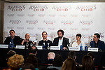 "Hovik Keuchkerian,Javier Gutierrez, Michael Fassbender,  the director of the film, Justin Kurzel, Marion Cotillard and Carlos Bardem during the presentation of the film ""Assassin's Creed"" in Madrid, Spain. December 07, 2016. (ALTERPHOTOS/BorjaB.Hojas)"