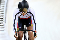 Natasha Hansen  competes in the Women Elite Sprint during the 2020 Vantage Elite and U19 Track Cycling National Championships at the Avantidrome in Cambridge, New Zealand on Friday, 24 January 2020. ( Mandatory Photo Credit: Dianne Manson )