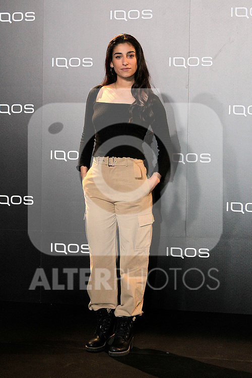 Carolina Yuste attends to IQOS3 presentation at Palacio de Cibeles in Madrid. February 10,2019. (ALTERPHOTOS/Alconada)