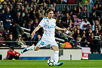 Luka Modric of Real Madrid in action during the La Liga 2017-18 match between FC Barcelona and Real Madrid at Camp Nou on May 06 2018 in Barcelona, Spain. Photo by Vicens Gimenez / Power Sport Images