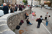 Music and instrument-makers festival in St. Jean du Gard, France.