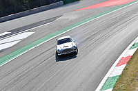 9th September 2021; Nationale di Monza, Monza, Italy; FIA Formula 1 Grand Prix of Italy, Driver arrival and inspection day: Ex Formula 1 racing driver Nico Hulkenberg drives around the circuit in James Bonds Aston Martin DB5