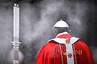 Pope Francis celebrates a mass for Cardinals who died during the year at St Peter Basilica at The Vatican. on November 4, 2013