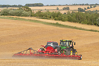 29-7-2021 Drilling oilseed rape with a companion crop in Rutland <br /> ©Tim Scrivener Photographer 07850 303986<br />      ....Covering Agriculture In The UK....