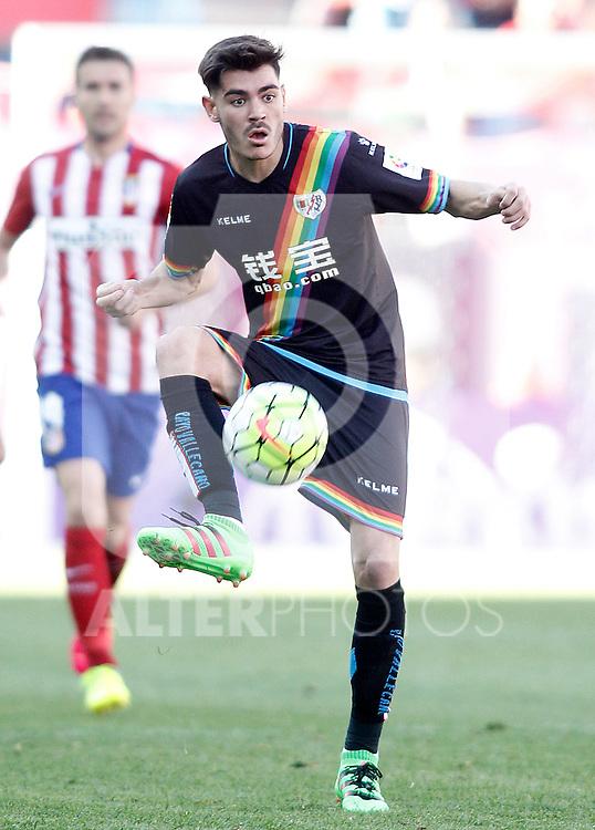 Rayo Vallecano's Jozabed Sanchez during La Liga match. April 30,2016. (ALTERPHOTOS/Acero)