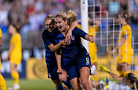 East Hartford, CT - July 29, 2018: The USWNT tied Australia 1-1 during the Tournament of Nations at Pratt & Whitney Stadium.