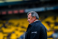 NZ head coach Ian Foster during the Bledisloe Cup rugby union match between the New Zealand All Blacks and Australia Wallabies at Sky Stadium in Wellington, New Zealand on Sunday, 11 October 2020. Photo: Dave Lintott / lintottphoto.co.nz