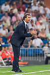 Manager Julen Lopetegui of Real Madrid reacts during the La Liga 2018-19 match between Real Madrid and CD Leganes at Estadio Santiago Bernabeu on September 01 2018 in Madrid, Spain. Photo by Diego Souto / Power Sport Images