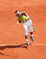 18-4-06, Monaco, Tennis,Master Series, Nadal in action against Clement