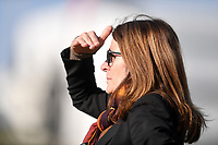 AS Roma coach Elisabetta Bavagnoli looks on during the Women Italy cup round of 8 second leg match between AS Roma and Roma Calcio Femminile at stadio delle tre fontane, Roma, February 20, 2019 <br /> Foto Andrea Staccioli / Insidefoto