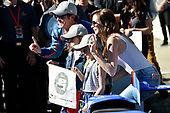 Verizon IndyCar Series<br /> Indianapolis 500 Qualifying<br /> Indianapolis Motor Speedway, Indianapolis, IN USA<br /> Saturday 20 May 2017<br /> Scott Dixon, Chip Ganassi Racing Teams Honda with the Verizon P1 Pole Award flag, daughters Poppy and Tilly, wife Emma, and team. <br /> World Copyright: Scott R LePage<br /> LAT Images<br /> ref: Digital Image lepage-170521-indy-4956