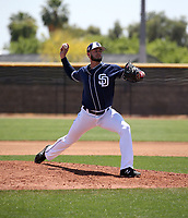 Dylan Coleman - San Diego Padres 2019 extended spring training (Bill Mitchell)