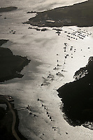 Europe/France/Bretagne/29/Finistère/Env de  Lanildut:  Vue aérienne de l'Aber Ildut