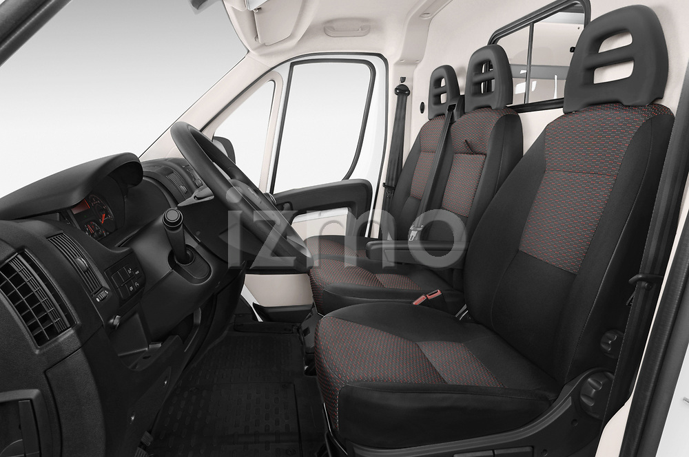 Front seat view of a 2018 Peugeot Boxer Pro 3 Door Cargo Van front seat car photos