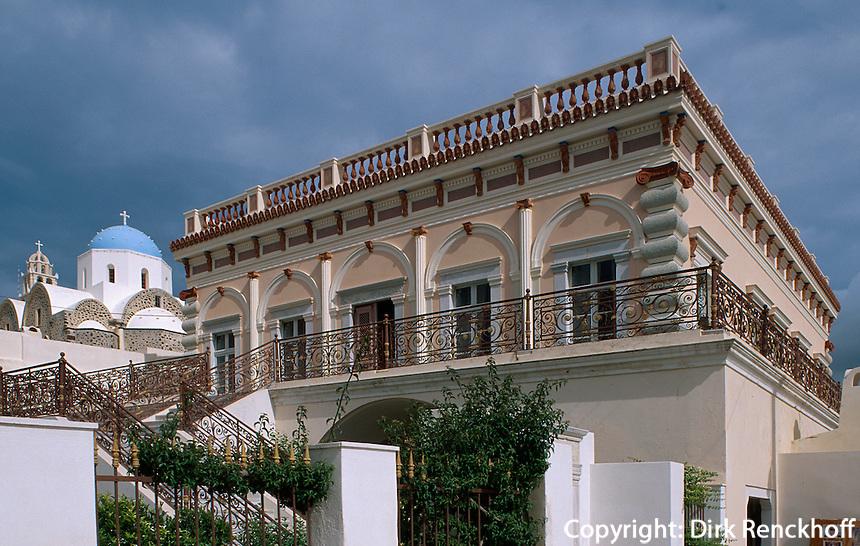 Villa Archontiko Argyrou in Messaria, Insel Santorin (Santorini), Griechenland, Europa