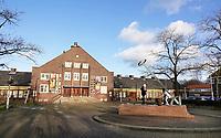 Nederland  Amsterdam   2021. Tuindorp Oostzaan.  Het Zonneplein in Amsterdam-Noord. T Zonnehuis.  Foto Berlinda van Dam / HH / ANP.