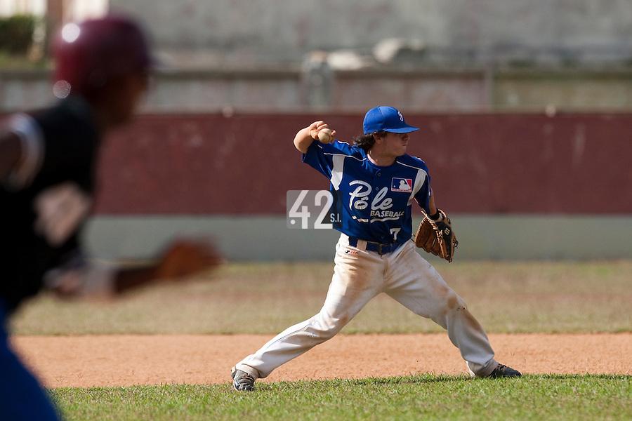 BASEBALL - POLES BASEBALL FRANCE - TRAINING CAMP CUBA - HAVANA (CUBA) - 13 TO 23/02/2009 - GUILLAUME LAFEUILLE (FRANCE)