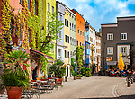 Deutschland, Bayern, Rosenheimer Land, Wasserburg am Inn: Marktplatz | Germany, Bavaria, Rosenheimer Land, Wasserburg am Inn: market square