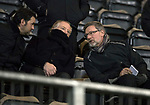 St Johnstone v Aberdeen…13.12.17…  McDiarmid Park…  SPFL<br />Paul Hartley, Jimmy Nichol and Craig Levein watch the game<br />Picture by Graeme Hart. <br />Copyright Perthshire Picture Agency<br />Tel: 01738 623350  Mobile: 07990 594431