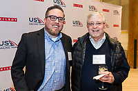 SAN FRANCISCO, CA - October 16 - Scott Armstrong and Jim Armstrong attend Kilroy Realty / US Olympic Sailing Cocktail Reception 2019 on October 16th 2019 at Kilroy Innovation Center in San Francisco, CA (Photo - Andrew Caulfield for Drew Altizer Photography)