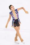 Zhansaya Adykhanova of Kazakhstan competes in Senior Ladies group during the Asian Open Figure Skating Trophy 2017 on August 05, 2017 in Hong Kong, China. Photo by Marcio Rodrigo Machado / Power Sport Images