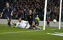 17/11/2007      Copyright Pic: James Stewart.File Name : sct_jspa05_scotland_v_italy.BARRY FERGUSON CELEBRATES AFTER HE SCORES SCOTLAND'S GOAL.James Stewart Photo Agency 19 Carronlea Drive, Falkirk. FK2 8DN      Vat Reg No. 607 6932 25.Office     : +44 (0)1324 570906     .Mobile   : +44 (0)7721 416997.Fax         : +44 (0)1324 570906.E-mail  :  jim@jspa.co.uk.If you require further information then contact Jim Stewart on any of the numbers above........