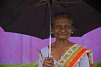 Women along the road to Weligama, Sri Lanka