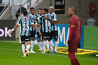 2nd June 2021; Arena do Gremio, Porto Alegre, Brazil; Copa Do Brazil, Gremio versus Brasiliense; Ricardinho of Gremio celebrates his goal in the 44th minute 1-0