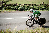 Eddie Dunbar (IRE/INEOS)<br /> Elite Men Individual Time Trial<br /> from Northhallerton to Harrogate (54km)<br /> <br /> 2019 Road World Championships Yorkshire (GBR)<br /> <br /> ©kramon