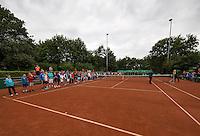 Hilversum, Netherlands, August 8, 2016, National Junior Championships, NJK, Official Opening<br /> Photo: Tennisimages/Henk Koster